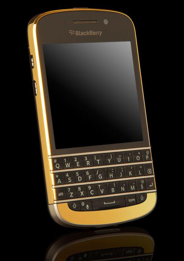 BlackBerry Q10 Gold Edition