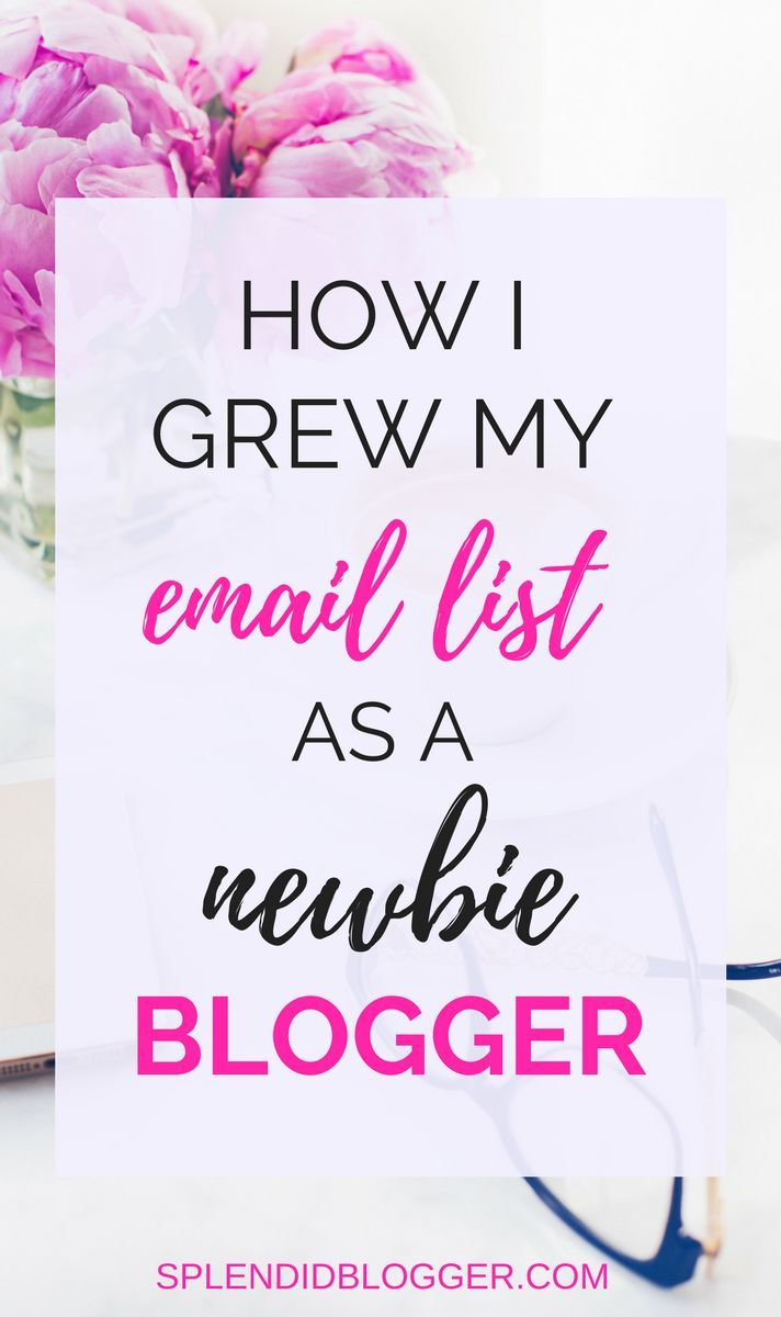 Are you a new blogger ready to start your email list? It can be a struggle to figure out where to begin at first. Click through to find out how to start an email list to make money with your blog. Find out why an email list is important to earning an income with your blog and how you can start one today! | make money blogging | start an email list | start a successful blog | how to start a blog | splendidblogger.com