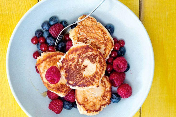 Protein-Pancakes - gluten- & laktosefreie Eiweißbombe! LECKER