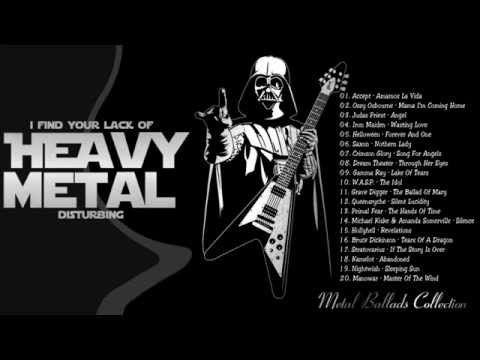 The Best Song Of Metal Ballads Collection