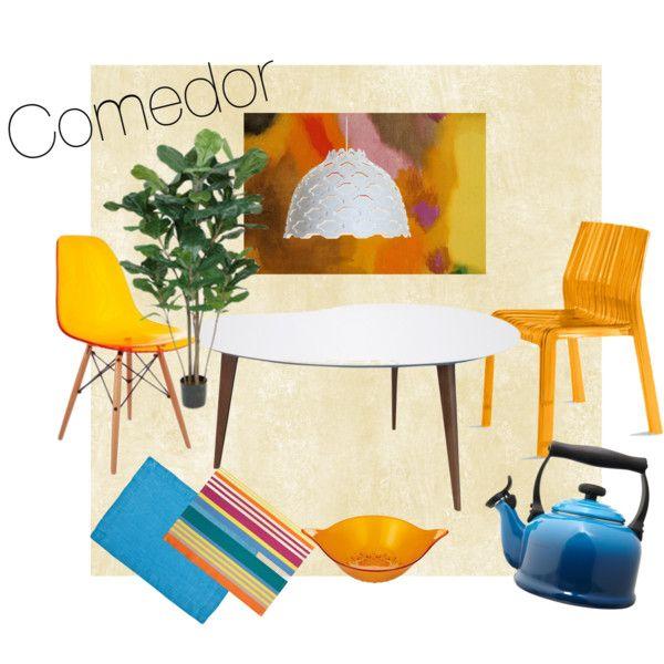 """""""comedor"""" by mariu-farina-munive on Polyvore"""