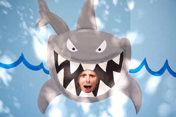 Shark Birthday Party 8