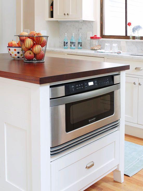 Best 25 Microwave In Island Ideas On Pinterest Kitchen Island Microwave Kitchen Island For