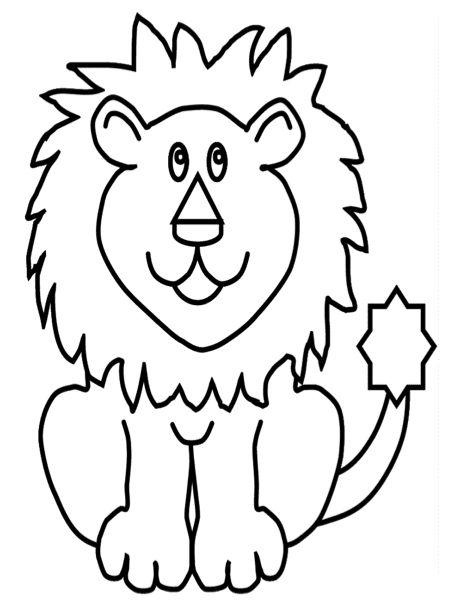 Leeuw Kleurplaat