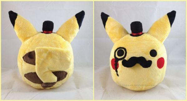 Dapper Pikachu plush