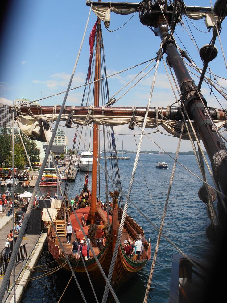 a view of DRAKEN HARALD HARFAGRE