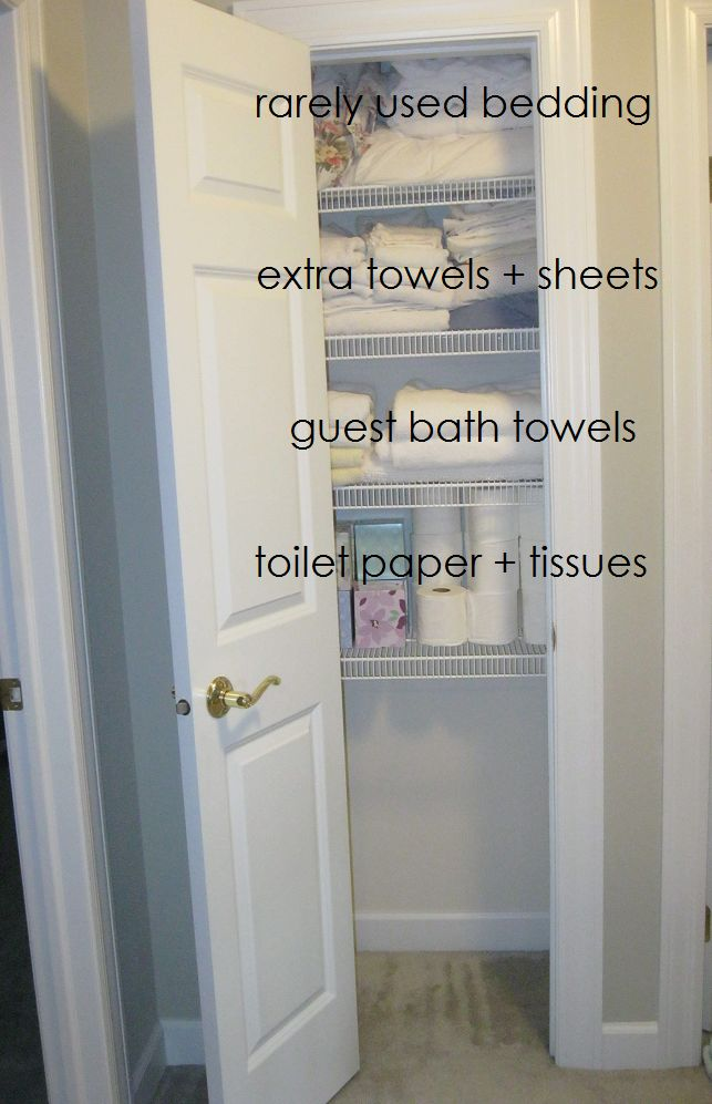 How to: Organize a Linen Closet for Free - Clean Mama