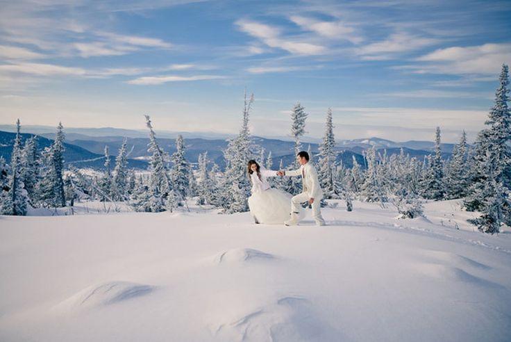 свадьба зимой в питере