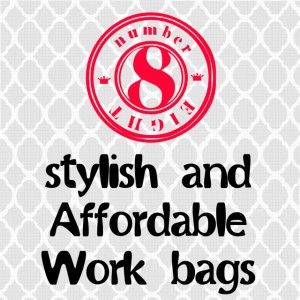 My 8 Favorite Super-Stylish (And Affordable!) Work Bags #splashresumes