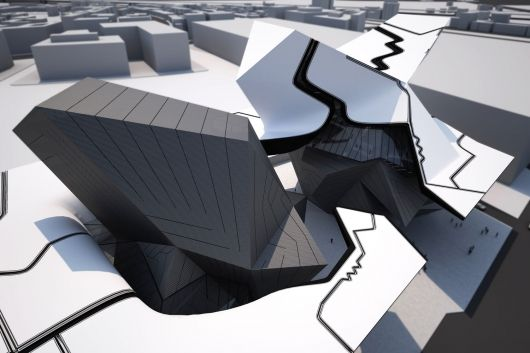 Taichung City Cultural Center Entry by Tom Wiscombe Design | Bustler