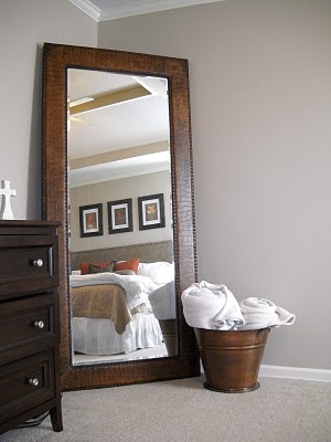 Did anyone know that we have a mirror and glass outlet in Hopkins MN? You could make on of these yourself with an antique door and custom mirror...