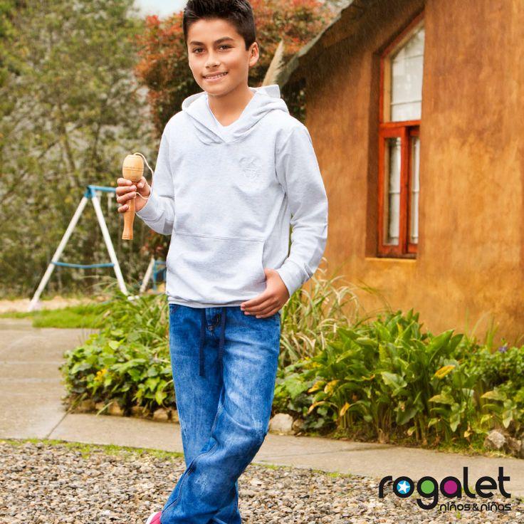 niños moda juvenil.