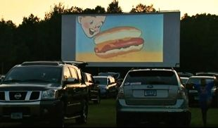 1000 images about outdoor cinema on pinterest back to the future movie theater and screens. Black Bedroom Furniture Sets. Home Design Ideas