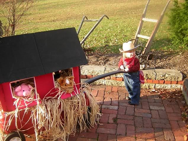 Wagon Stroller Car WC :: DuffeyFarmerGirl2.jpg picture by vickifunes - Photobucket