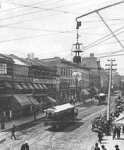 Vintage Toronto. Yonge St pre 1900s