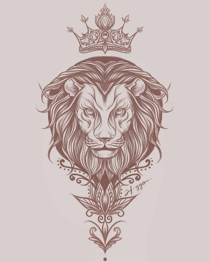 The Lion King • #art #tattoo #sketch #ink #liontattoo #desenhando #art