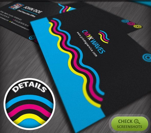 A CMYK print job that utilizes a solid block of at least one of the process colours