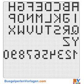 Alphabet buegelperlen vorlagen web
