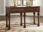 Ashley T907-4 Beisterfield Brown Traditional Console Table