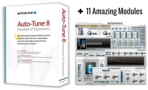 Antares Auto-Tune 8 Cracked For Mac OSX | MacosSoftware in