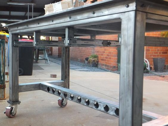 welding table 26 x 63 building 2 of them to act like sawhorses page 2