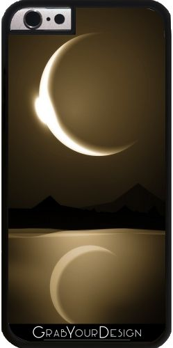 GrabYourDesign - Case for Iphone 6/6S Moon Reflections - by Texnotropio