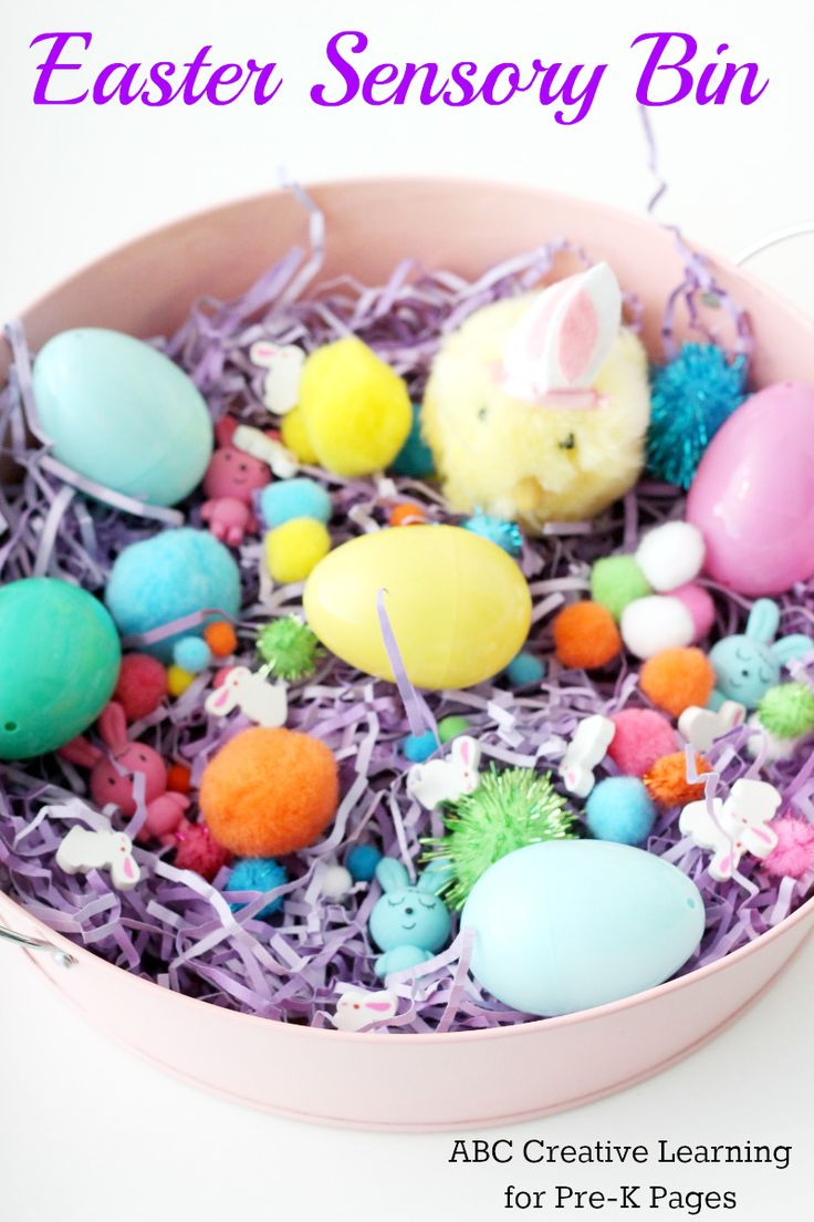 Easter Sensory Bin For Preschool A Fun Experience An Theme With Your