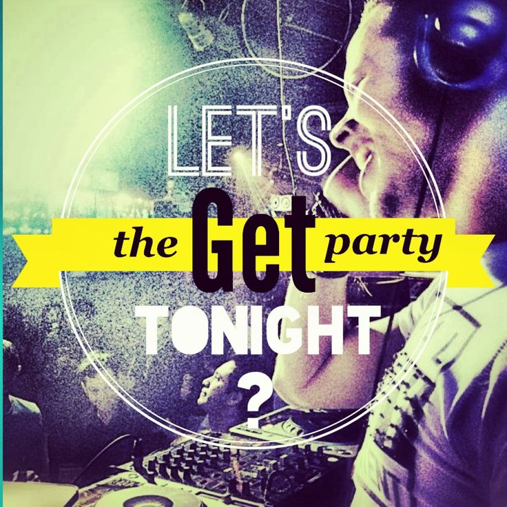 Let's Get the Party Tonight? Illustrator CS5