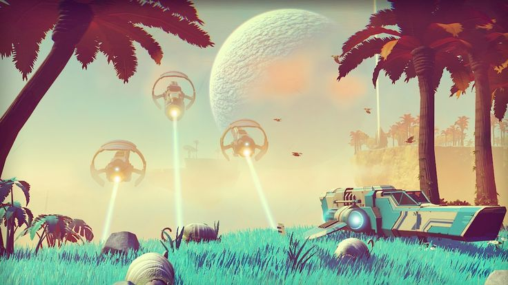 No Man's Sky is coming to PC and PS4, but has not been dated. Description from geimin.co.uk. I searched for this on bing.com/images