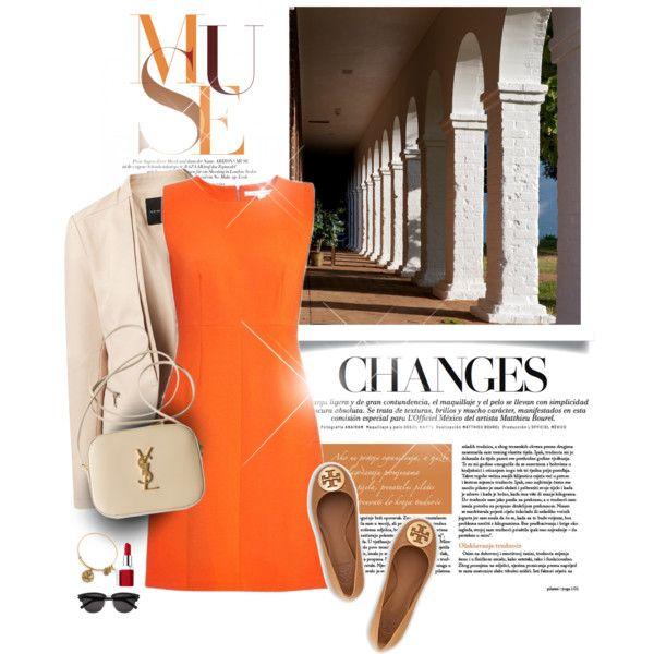 10 Ways to Wear an Orange Dress - Outfit Ideas HQ