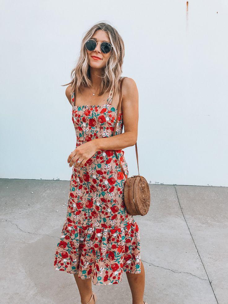 5 Floral Dresses for Summer