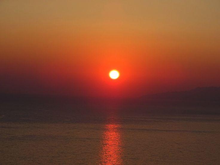 Sunset in Prophet Elias. Call it magic! #sunset #patmos #patmosaktis