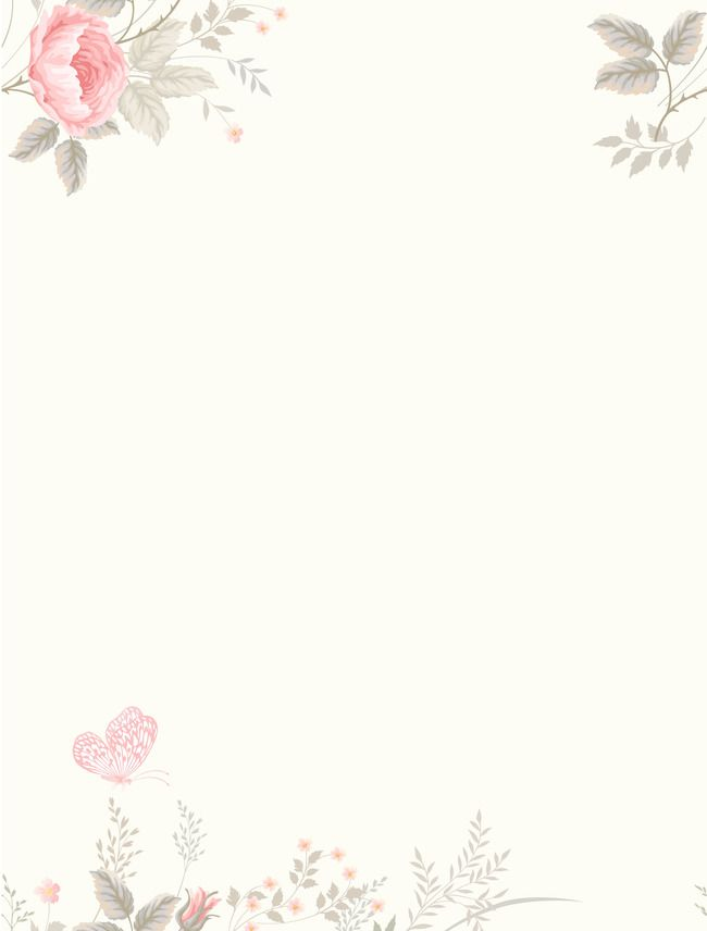 Vector Watercolor Flowers Fresh Literary Background Flower Background Wallpaper Watercolor Flower Background Watercolor Flowers