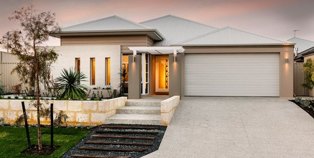 Affordable Living Home Designs: The Crown. Visit www.localbuilders.com.au/home_builders_perth.htm to find your ideal home design in Perth