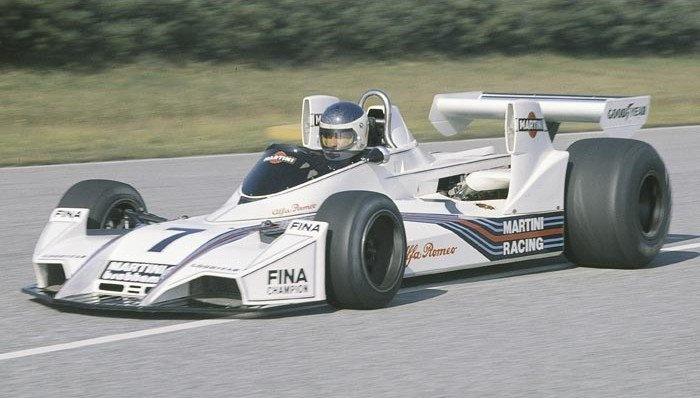 1975 Carlos Reutemann, Brabham BT44B Alfa Romeo