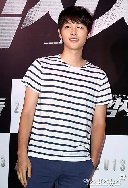Song Joong Ki at Cold Eyes movie premiere *5