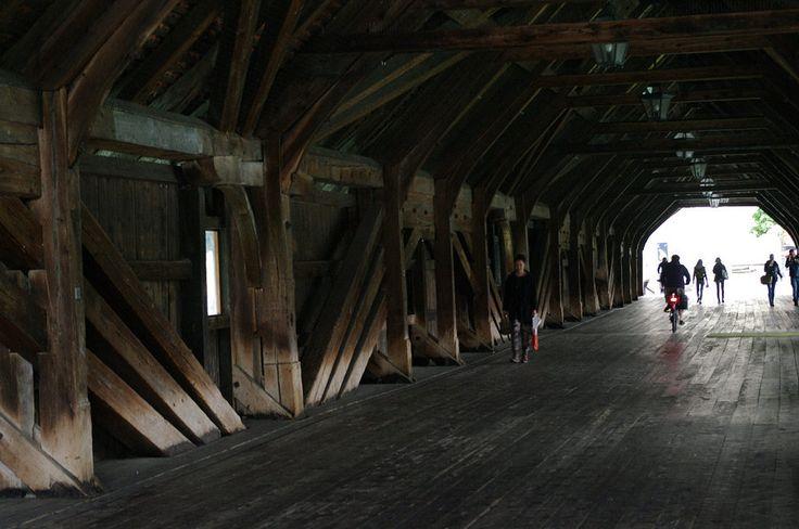 Wooden Bridge Interior | by Uri Bruck