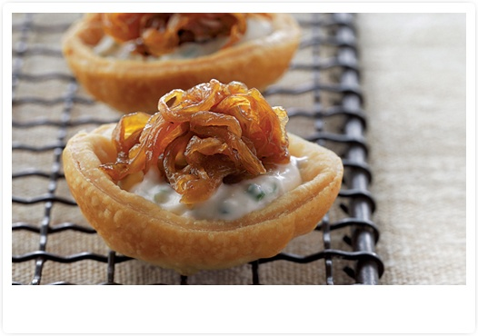 Caramelized Onion Tartlets recipe from: Holiday Entertaining - The 2012 Host's Guide