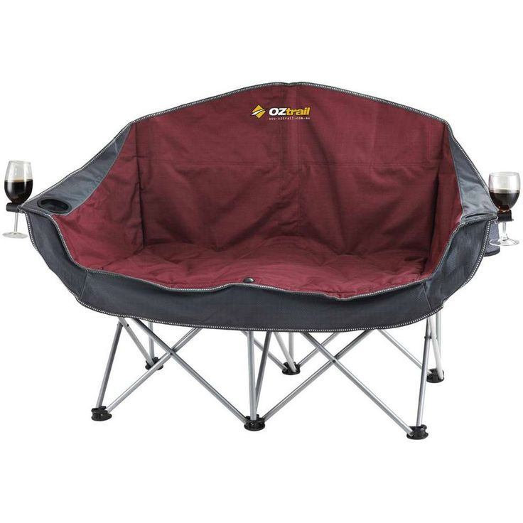 Check out ** OZtrail Moon Double Chair with Arms