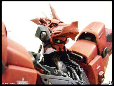 MSN-04S Scalebane Sazabi Custom Build  by Ambrose Cheng's blog   WORDS FROM THE MODELER Designing the Scalebane The idea of Scalebane comes...