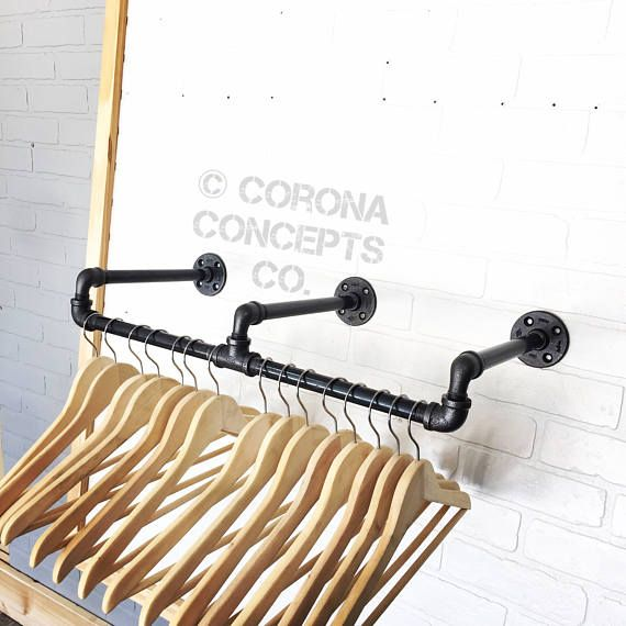 Industrial Clothing Rack  Retail Display  Clothing Hanger