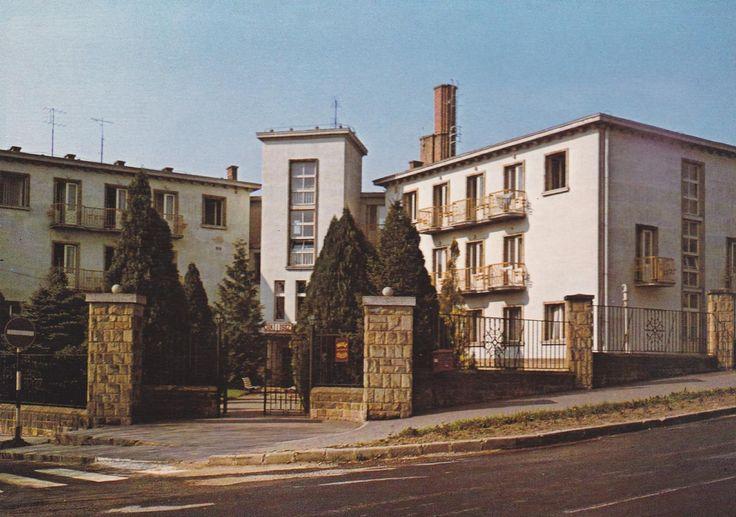 OKISZ üdülő, Arizóna Hotel, Pannon Hotel, Széchenyi utca 23, 1977
