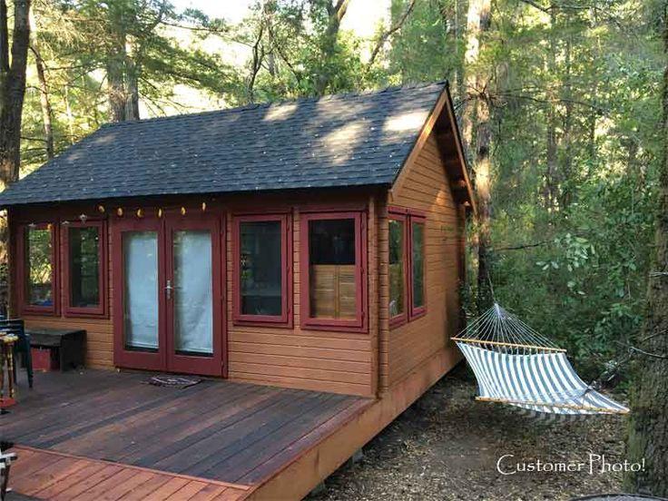 82 best cabins images on pinterest alternative backyard cottage