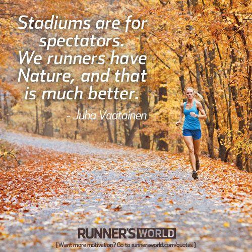 Stadiums Are For Spectators | Runner's World