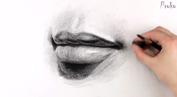 How To Draw Lips   Step By Step  •  Free tutorial with pictures on how to make a drawing in under 25 minutes