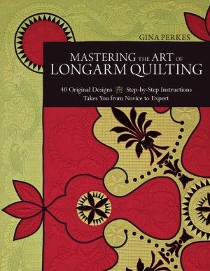 The C&T Publishing blog offers updates on their latest quilt books, as well as tutorials and giveaways.: Originals Design, Longarm Quilts, Books Worth, 40 Originals, Gina Perk, Quilts Design, Good Books, Quilts Booksdesign, Longarm Tutorials