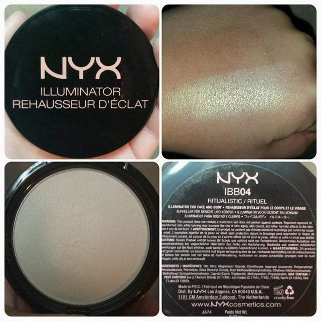 "NYX Illuminator in ""Ritualistic."" Already bought"
