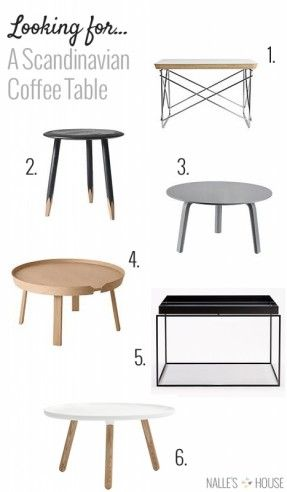 Via Foter | Scandinavian Coffee Tables | HAY | Muuto | Vitra | Normann Copenhagen