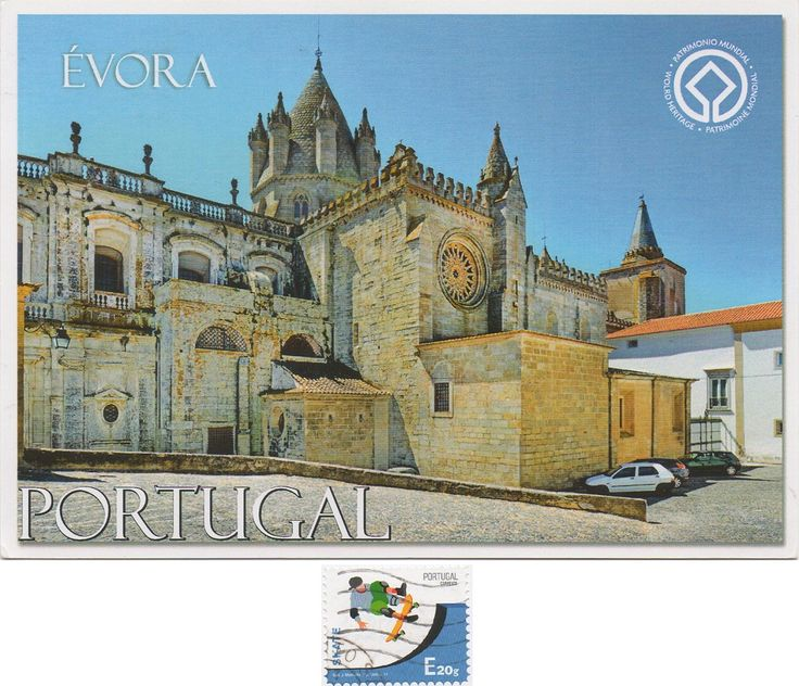 PT-542515 - Arrived: 2017.10.09   ---   The Cathedral of Évora ) is a Roman Catholic church in the city of Évora, Portugal. It is one of the oldest and most important local monuments, lying on the highest spot of the city. It is part of the historical city centre, and the seat of the Archdiocese of Evora.  It was declared a World Heritage Site by UNESCO in 1988.