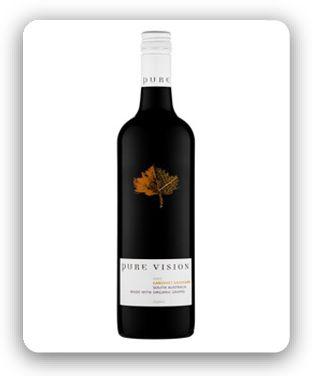Pure Vision Cabernet Sauvignon   Buy online from Cellar Organics
